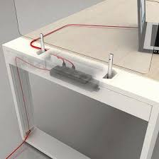passe cable bureau passe cable bureau génial poste de travail domicile avec bureau
