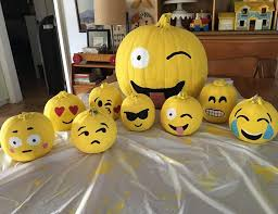 pumpkin decorations clever no carve painted pumpkin ideas for kids crafty morning