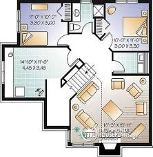 mezzanine floor plan house house plan w3324 detail from drummondhouseplans com