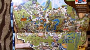 Six Flags New England Map by New Park Maps Youtube