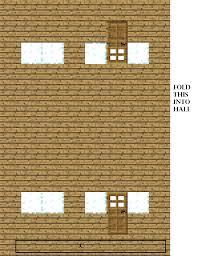 papercraft steve u0027s house