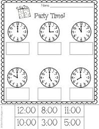 56 best telling time images on pinterest teaching ideas
