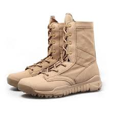 light brown combat boots cqb military army boots 07 super light breathable single combat
