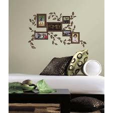 roommates 5 in x 11 5 in family frames peel and stick wall family frames peel and stick wall decals