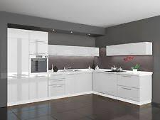 küche g form hochglanz küchen mit l form für die küche ebay