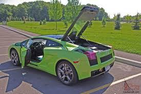 Lamborghini Gallardo Lime Green - gallardo se coupe 2 door