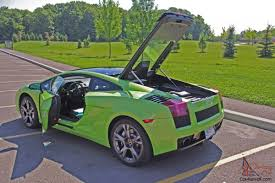 Lamborghini Murcielago Lime Green - gallardo se coupe 2 door