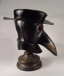 plague doctor hat bob basset s lair steunk plague doctor mask with hat