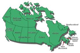 canadian map canada map