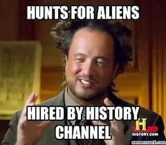 Aliens Guy Meme Generator - hunter