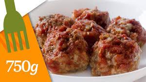 750 grammes recette de cuisine recette de boulettes de viande sauce tomate 750 grammes