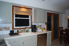 Large Kitchen Window Treatment Ideas Window Treatment For Kitchens Aralsa Com