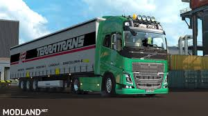 volvo commercial 2016 volvo fh stock sound v2 0 1 23 x 1 25 x mod for ets 2