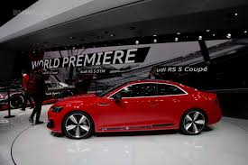 audi rs5 coupe 2017 geneva motor audi rs5 coupe debuts to take on bmw m4