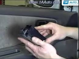 how to install replace power window switch nissan altima 1998 1999