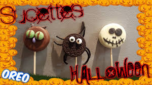 recette sucettes oreo halloween youtube