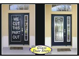 Exterior Doors Glass White Exterior Door Entry Doors Wen Paint Surface Ivory C Glass