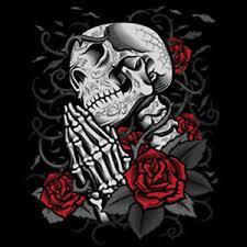 day of the dead skull praying skeleton roses dia muertos t