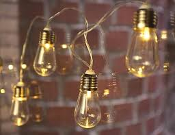 edison bulb string lights kikkerland design inc