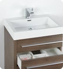 Bathroom Vanity Medicine Cabinet by 24 Inch Gray Oak Modern Bathroom Vanity Medicine Cabinet