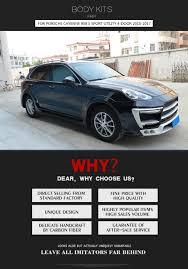 Porsche Cayenne Quality - aliexpress com buy frp car body kits bumper side skirts wheel