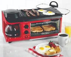 Toaster Retro Bset300retrored U002750s Style 3 In 1 Breakfast Station Nostalgia