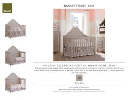 Bassett Convertible Crib by Bassett Baby Crib 4 In 1 Cribs Decoration