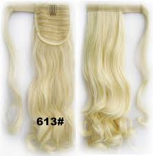 Pony Wrap Hair Extension by Buy Fashion Clothing Women Synthetic Wrap Around Ponytail Curl