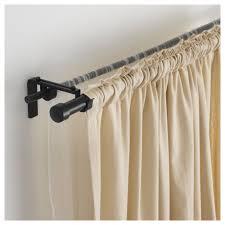 Return Rod Curtains Barricade Return Curtain Rod U And Window