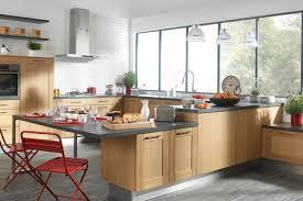 belles cuisines traditionnelles nos cuisines design moderne bois avec îlot comera cuisines
