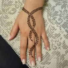 small henna leaf design entertainmentmesh