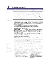 Example Of Video Resume example of resum simple resume example for jobs http