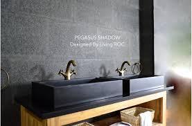 black vessel sink faucet 24 black granite bathroom sink faucet hole pegasus shadow