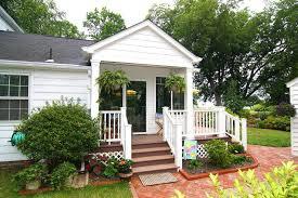 front porch railing deck modern with designrail lighting portland