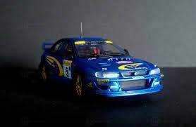 subaru autoart diecast subaru impreza 22b wrc modelcar autoart 1 43 in racing