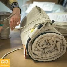 100 hemp sleeping bag