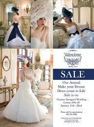 wedding gown sale sale custom wedding dress sale at valencienne