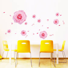 Pink Removable Wallpaper by Online Get Cheap Pink Bathroom Decor Aliexpress Com Alibaba Group