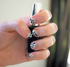 very enchanting halloween inspired spider web tip nails