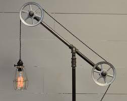 Restoration Hardware Light Fixtures by Industrial Floor Lamp Floor Light Pulley Light Pipe