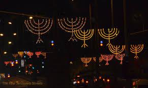 hanukkah lights decorations chaukkka celebrations the real jerusalem streets