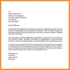 4 college application letter example parts of resume