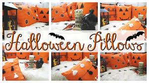 halloween happy halloween pillows diy youtube