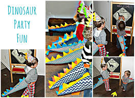 dinosaur party favors diy dinosaur tails dinosaur spike party hats and favors this