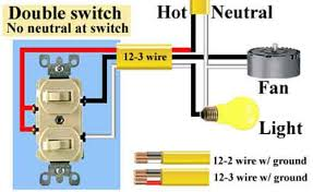 dual switch wiring diagram ceiling fan wiring diagram