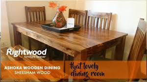 Wood Dining Room Furniture Wooden Dining Table Design With Bench Ashoka Online Furniture By