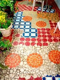 best 25 painted concrete patios ideas on pinterest stain