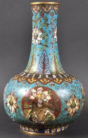 Good Vase Good Chinese Ming Dynasty Cloisonne Enamel Vase