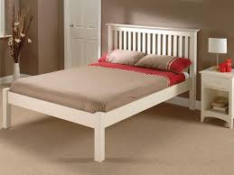 4 Foot Bed Frame Barcelona White Low Foot End At Mattressman