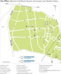 Jaipur India Map by Harbinger Lounge Patrakar Colony Jaipur Propertywala Com